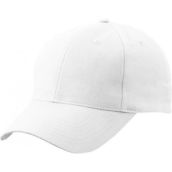6 paneels baseball cap wit