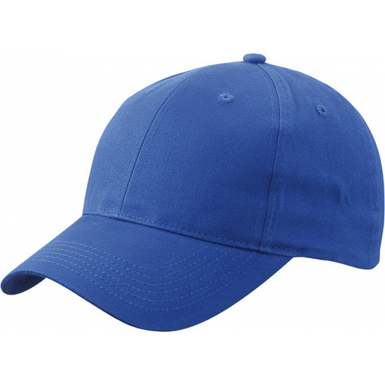6 panel baseball cap kobalt