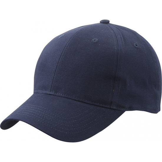 6 panel baseball cap navy