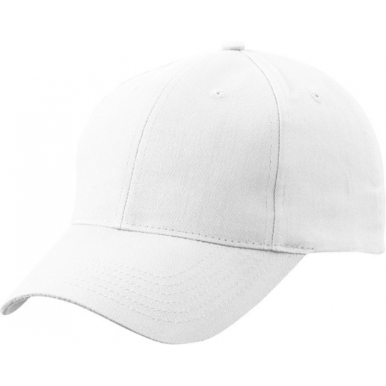 6 panel baseball cap wit