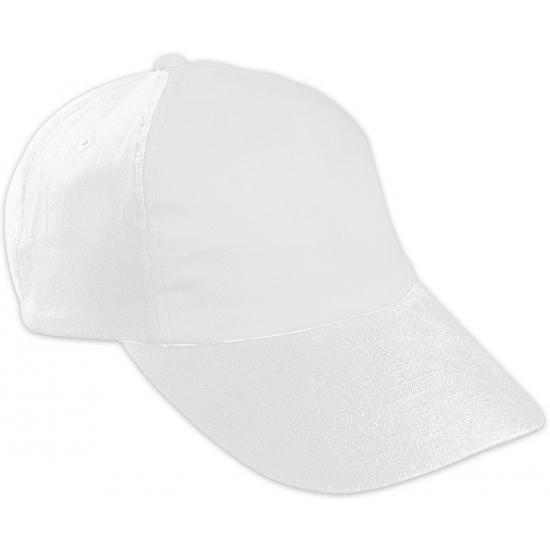 Baseballcapjes wit voor kinderen