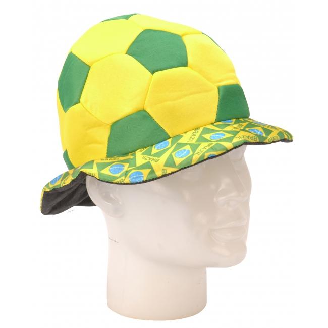 Brazilie voetballen hoed 18 cm