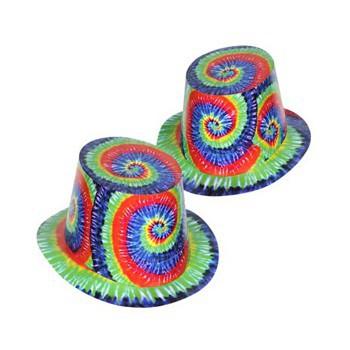 Fel gekleurde hoedjes