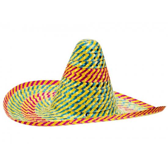 Gekleurde sombrero 50 cm