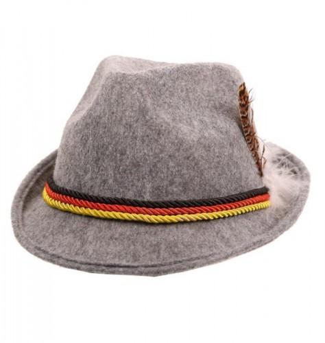Grijs Tiroler hoedje