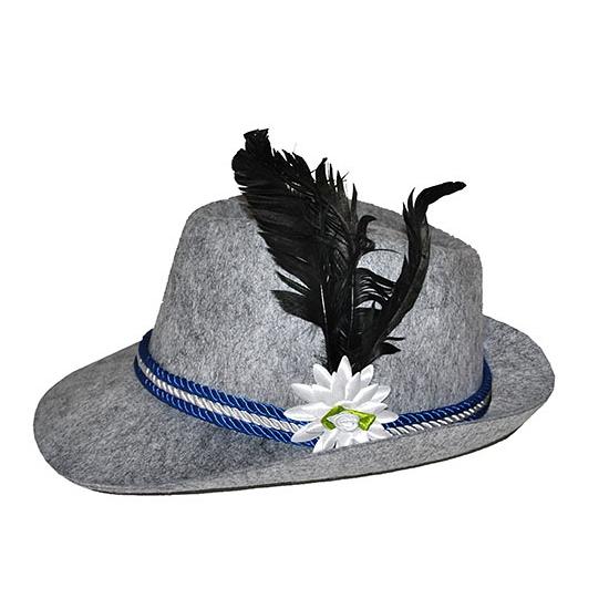 Grijze Tiroler hoeden