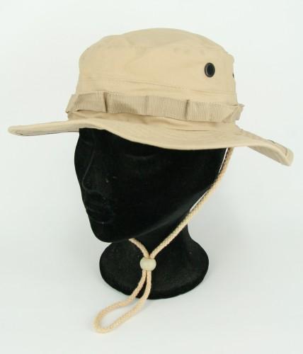Khaki bush hoed van ripstop