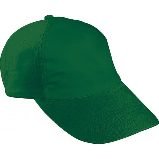 Kinder baseball caps donkergroen