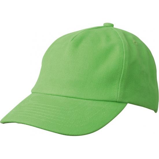 Kinder baseball caps lime