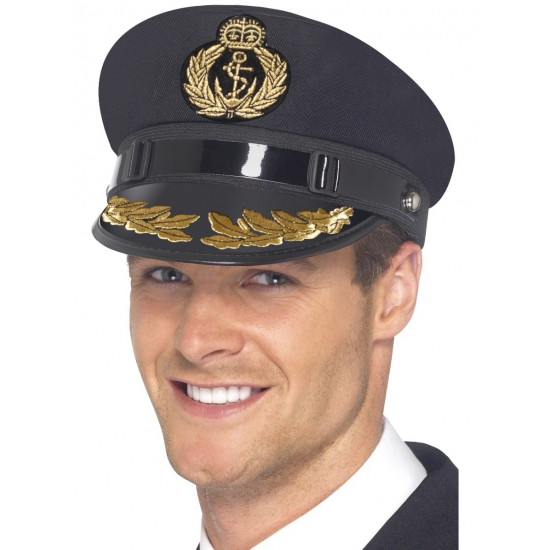 Marine kapiteins hoed voor volwassenen