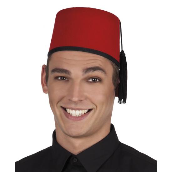 Marokkaanse Fez hoedje 58 cm