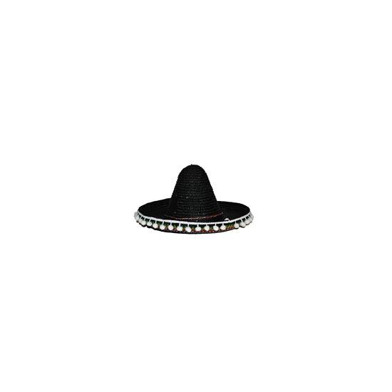 Mexico sombrero gekleurd 40 cm