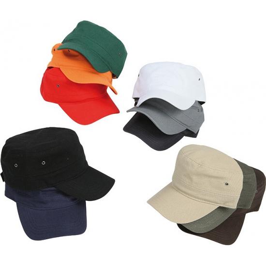 Militairy look rebel cap
