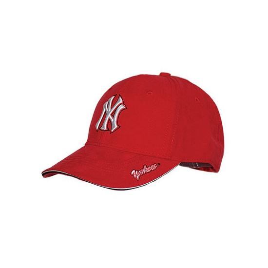NY Yankees pet rood suede voor volwassenen