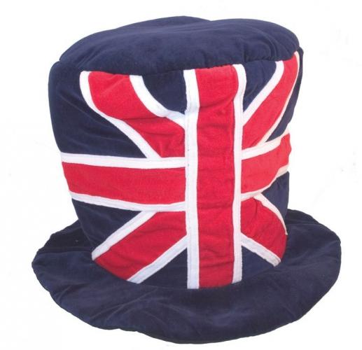Pluche Engelse hoed 59 cm