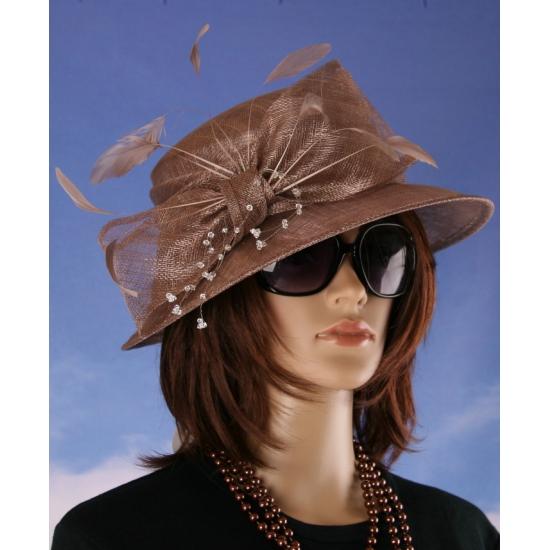 Prinsjesdag nette hoed brons Alexia