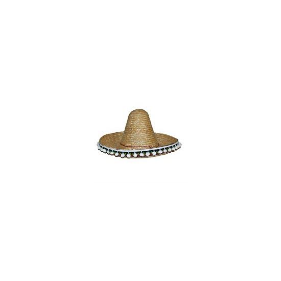 Sombrero hoeden naturel 30 cm