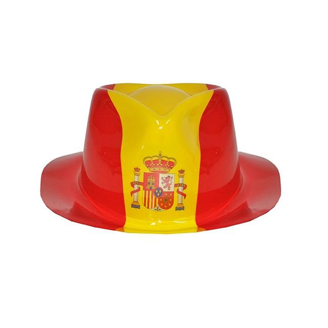 Spaanse kojak hoed van plastic