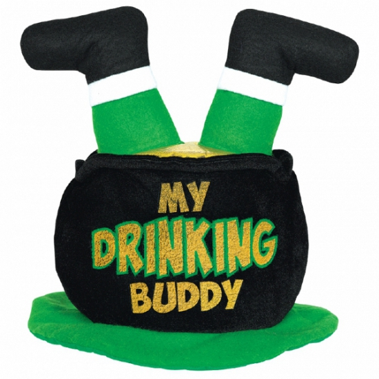 St. Patricks Day hoed drinking buddy