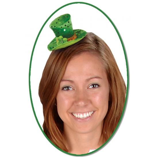 St. Patricks Day hoedje op clip