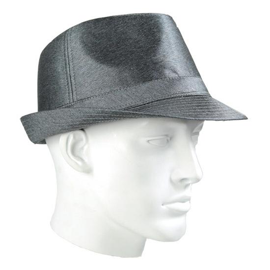 Timberlake donker zilver hoed luxe