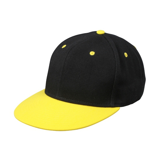 Trendy baseball cap 2 kleurig