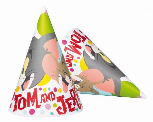Verjaardagshoedjes Tom en Jerry