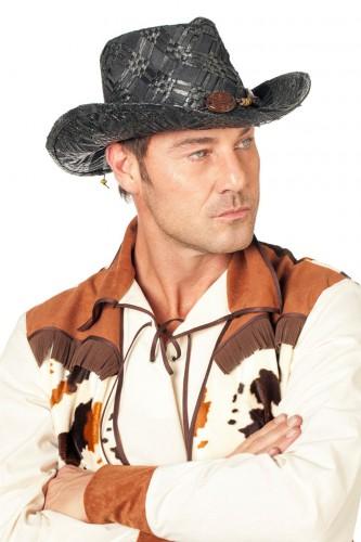 Verkleedartikel cowboy hoed zwart