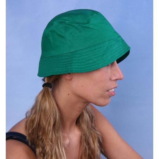 Vissershoedje groen
