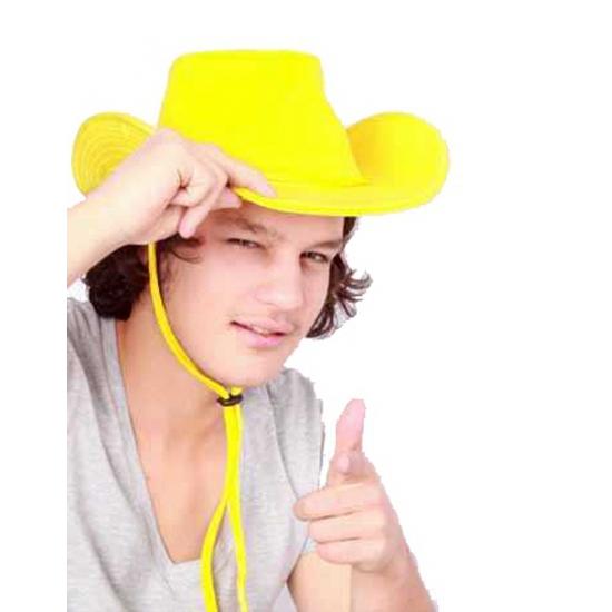 Westernhoed geel