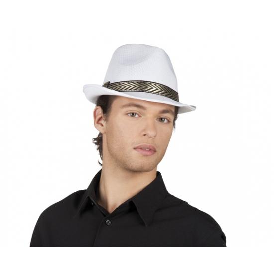 Witte kojak hoeden