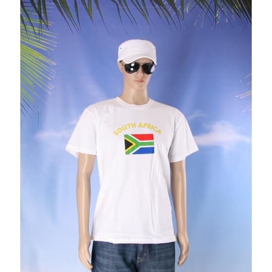 Zuid Afrikaanse vlaggen t shirts