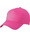 5 panel baseball pet fuchsia