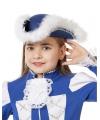 Dansmarieke hoed blauw voor meisjes