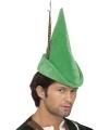 Groene robin hood hoed voor volwassenen