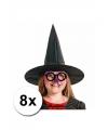Halloween 8 hoge heksenhoed voor kinderen