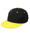 Hiphop pet zwart geel