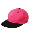 Hiphop pet zwart roze