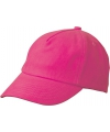 Kinder baseball caps fuchsia