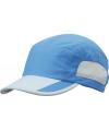 Kobalt blauwe sportieve pet van licht materiaal