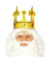 Koning kroon met glitters voor volwassenen