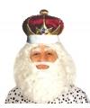 Luxe koningskroon met edelstenen