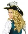 Piraten hoed met veren