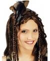 Piraten hoedje aan diadeem voor dames