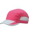 Roze sportieve pet van licht materiaal