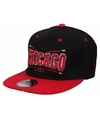Snapback pet chicago bulls zwart rood