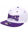 Snapback pet la lakers wit paars