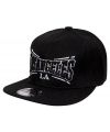 Snapback pet los angeles zwart