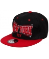 Snapback pet new york zwart