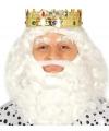 Voordelige koning kroon met edelstenen